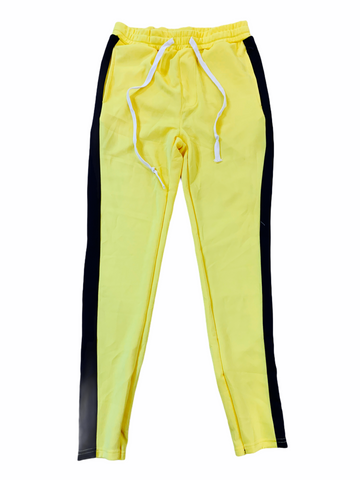 HUGE Track Pants (Yellow/Black)