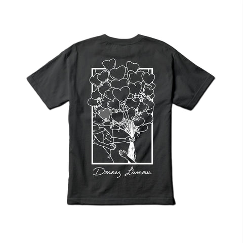 Yumm 'Donnez L'amour' T-Shirt (Black/Grey)
