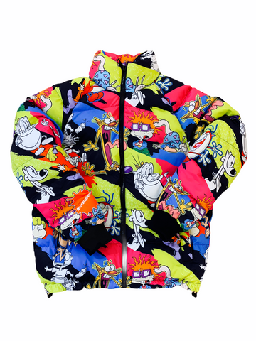 Freeze Max x Nickelodeon 'All Over' Puffer Jacket