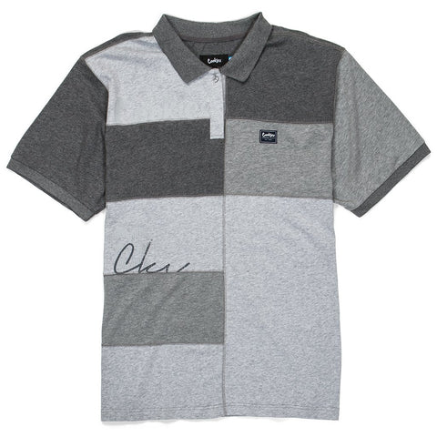 COOKIES CAMPUS COTTON JERSEY PIECED POLO (1536K3287) - Fresh N Fitted