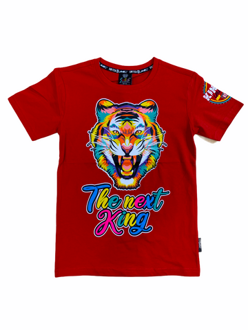 Switch Kids Tiger T-Shirt (Red)