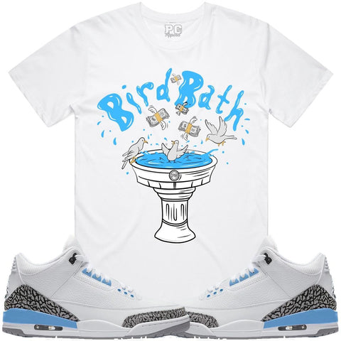 PG Apparel Bird Bath Tee - White - Fresh N Fitted
