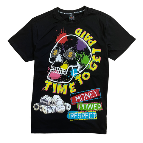Switch 'Time To Get Paid' T-Shirt (Black)