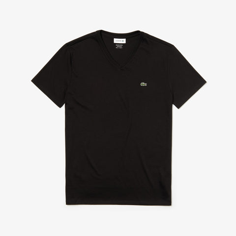Lacoste Men's V-neck Pima Cotton T-shirt - Fresh N Fitted