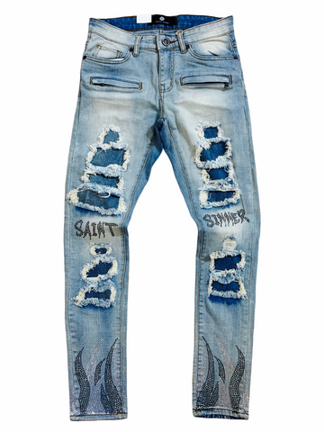 Focus 'Saints & Sinners' Denim (Lt. Wash)