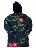 Reelistik Camo Jacket w/ Removable Fur
