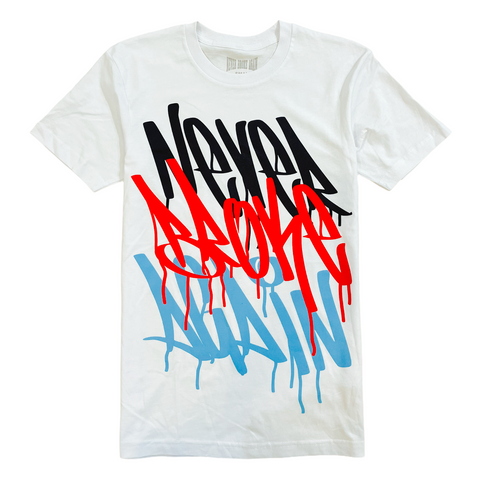 NBA 'Graffiti' T-Shirt (White)