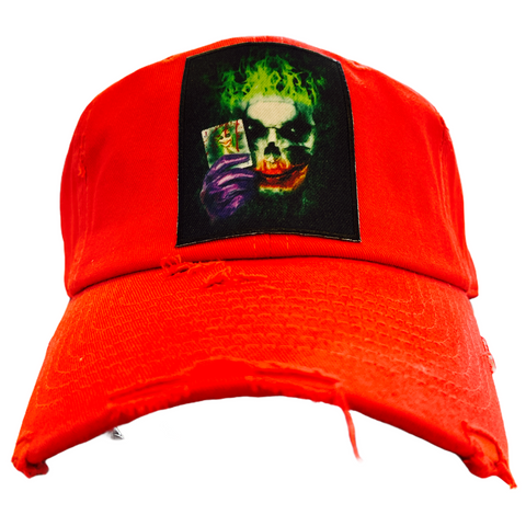 'Joker' Dad Hat (Red)