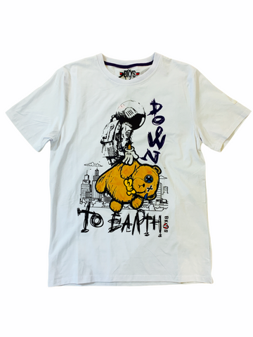 BKYS 'Down To Earth' T-Shirt (White)