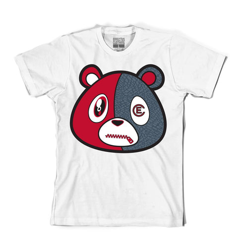 Effectus 'E Bear Denim' T-Shirt (White)
