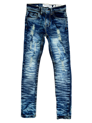 Evolution Kids Faded Denim (S.Blue)