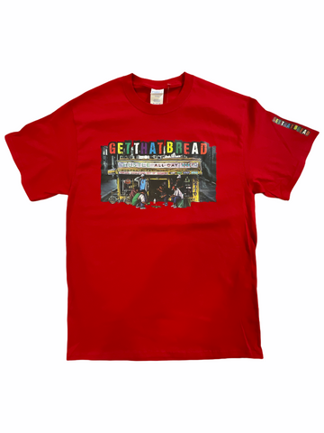 'Get That Bread' T-Shirt (Red)