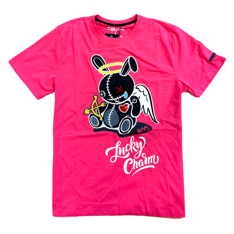 BKYS 'Angel Lucky Charm' T-Shirt (Coral)