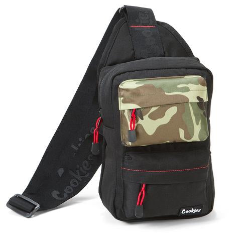 "COOKIES SMELL PROOF ""RACK PACK"" OVER THE SHOULDER SLING BAG - Fresh N Fitted"