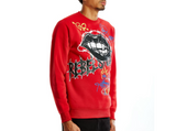 Rebel Minds Graffiti Crew Sweatshirt (Red)