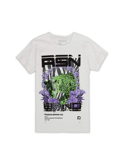 Reason 'Nights Stare' Tee (White)