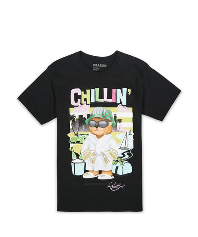 Reason 'Chillin' Tee (Black)