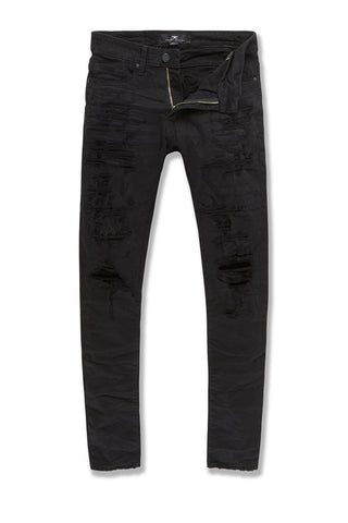 Sean - Nightfall Denim (Jet Black)