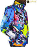 De-Kryptic x Dexter's Laboratory Bubble Jacket (Blue)