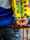 De-Kryptic x Sesame Street 'Big Bird Bubble Jacket' (Yellow)