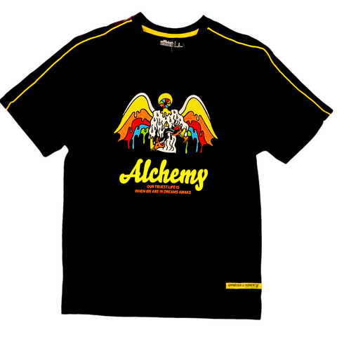 Offbeat 'Alchemy' T-Shirt (Black)