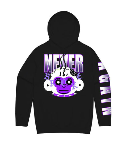 NBA RETRO BABY HD BLK-PURPLE - Fresh N Fitted