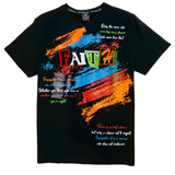 SWITCH QUOTES BLACK TEE