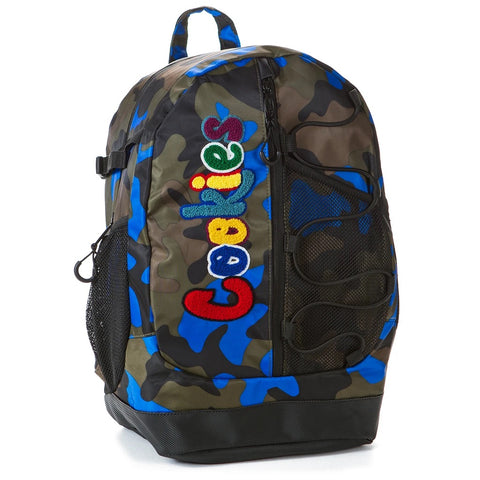 "COOKIES SMELL PROOF ""THE BUNGEE"" NYLON BACKPACK W/ CHENIILLE LETTERING"
