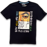 BKYS Stay Wild Tee In Black