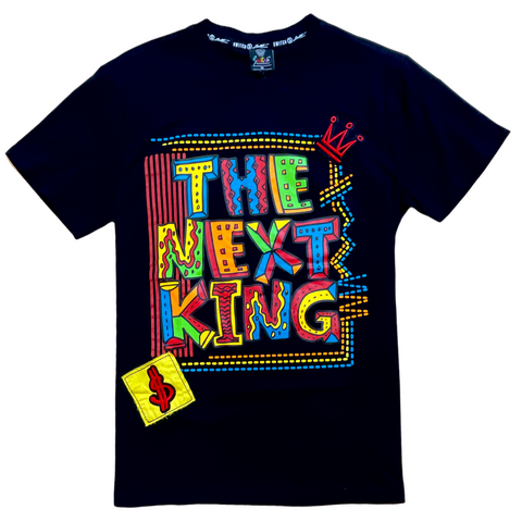 SWITCH THE NEXT KING BLACK TEE