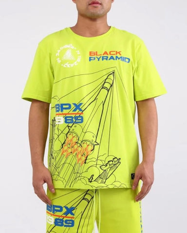 Black Pyramid BPX Shirt Lime Green