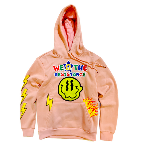 Camp 'We R The Resistance' Hoodie (Peach)
