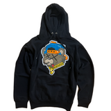 3Forty Inc. 'Money Bear' Chenille Patch Hoodie (Black)