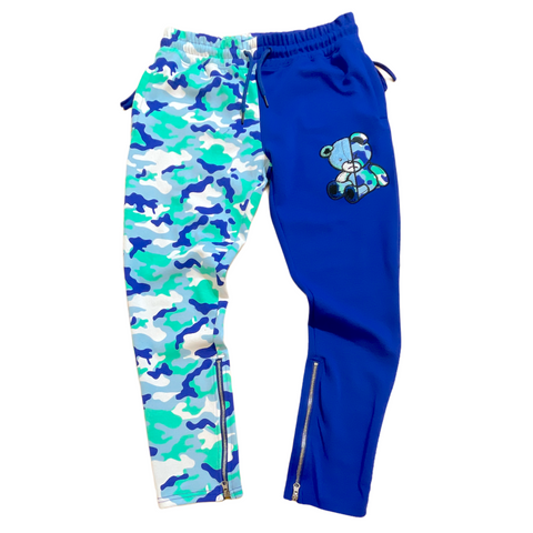 CIVILIZED CAMO BEAR ROYAL SWEAT PANTS