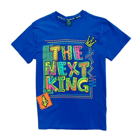 SWITCH THE NEXT KING ROYAL BLUE TEE