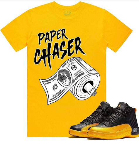 PG Apparel 'Paper Chaser' T-Shirt (Gold)