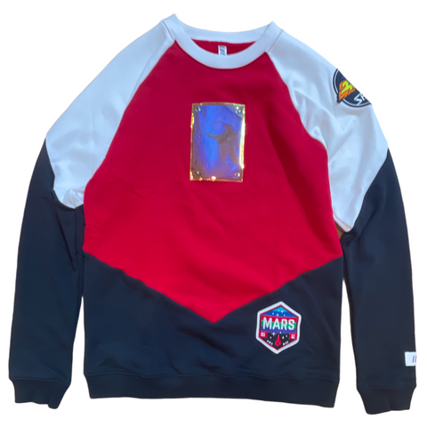 Fifth Loop 'Mars' Crewneck (Red)