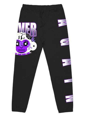 NBA RETRO BABY PNT BLK.PURPLE