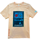 Fifth Loop 'Fearless' T-Shirt (Peach)