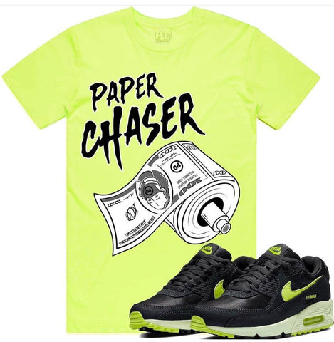PG Apparel 'Paper Chaser' T-Shirt (Neon)