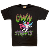Retro Label Own The Streets Tee (Black)