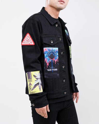 Black Pyramid Future Relic Denim Jacket Black