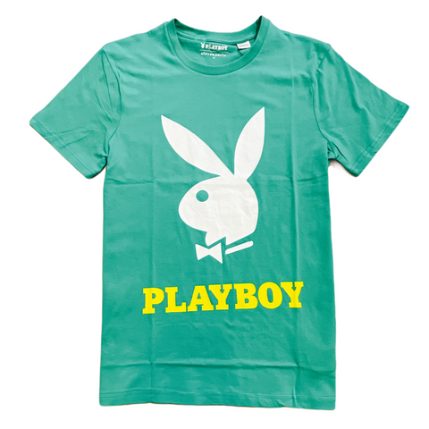 elevenparis x Playboy Logo T-Shirt (Green)