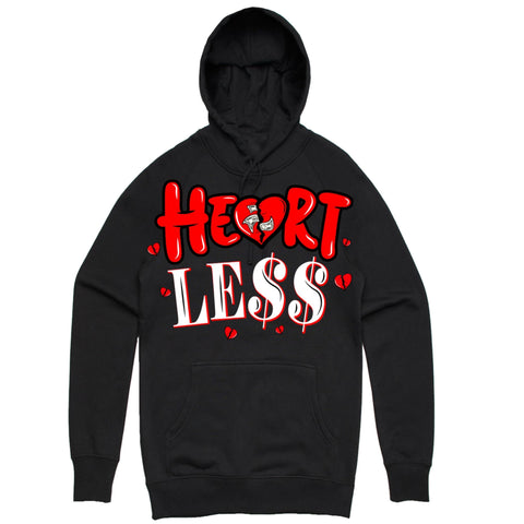 PG Apparel Heartless- Hoodie (Black/Red)