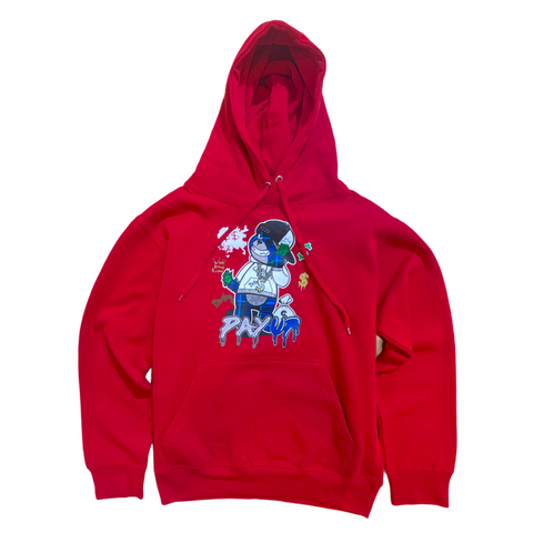 3Forty Inc. Pay Up Hoodie (Red)