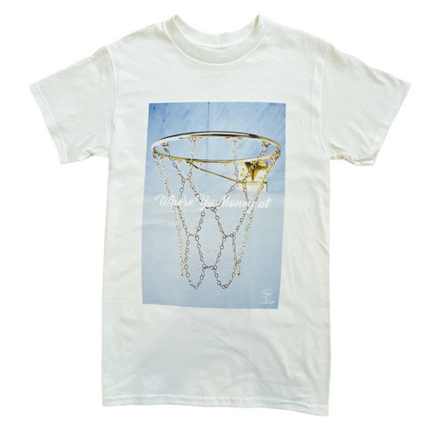 Caked Up Hoop Tee (White)