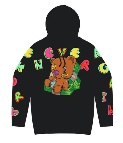NBA STASH BEAR HOODY - Fresh N Fitted