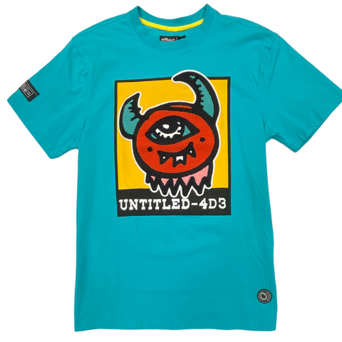 Offbeat 'Untitled' T-Shirt (Turquoise)