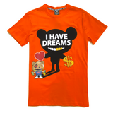 SWITCH DREAMS ORANGE TEE