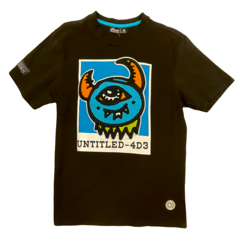 Offbeat 'Untitled' T-Shirt (Black)